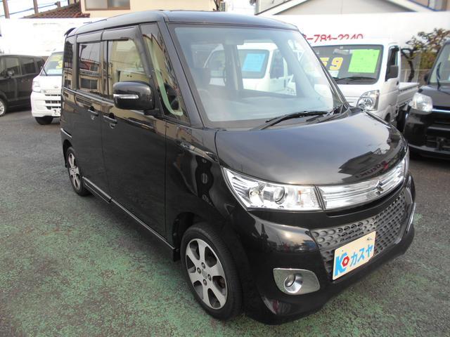 XS オートスライドドアHIDライトプッシュスタート軽自動車(2枚目)
