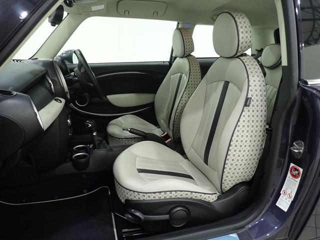 クーパー クリスタル 限定車 レザーシート シートヒーター ETC プロジェクターHIDヘッドライト(10枚目)