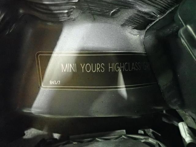 クーパー クリスタル 限定車 レザーシート シートヒーター ETC プロジェクターHIDヘッドライト(61枚目)
