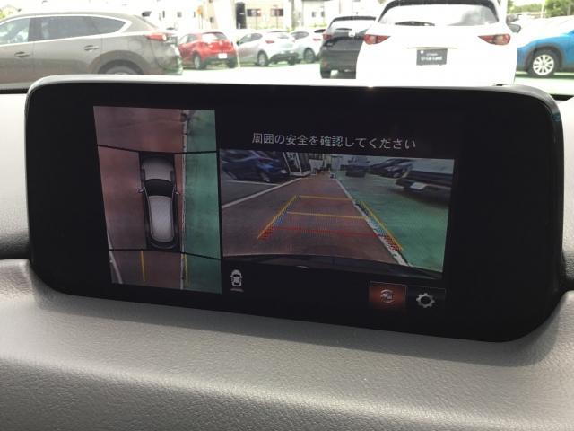 車両の前後左右にある4つのカメラを活用し、センターディスプレイの表示や各種警報音で低速走行時や駐車時に車両周辺の確認を支援し、見えない部分の危険察知をサポートいたします!