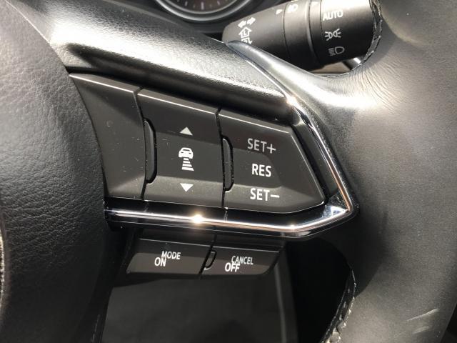 フロントレーダーセンサーが先行車を検知し、アクセルやブレーキを踏まなくても、0km/h〜高速域まで、設定した速度での定速走行や、車間距離を一定に保ちながら追従走行を行い、ドライバーの負担を軽減します!