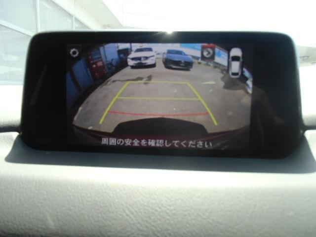 バックカメラが付いているので、苦手な車庫入れや、狭い場所での後方確認に便利で安全な装備です☆左サイドカメラも装備されています。