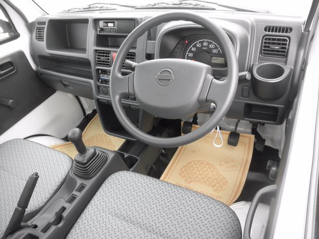 日産 NT100クリッパートラック DX 届出済未使用車 エアコン パワステ 5MT 純正ラジオ