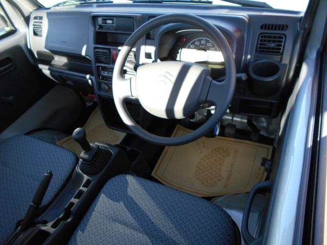 スズキ キャリイトラック KCエアコン・パワステ 届出済未使用車 純正ラジオ ABS
