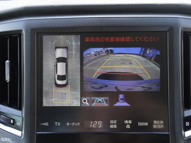 Fバージョン HDDナビ地デジ・全方位カメラ・CD・DVDビデオ・ミュージックサーバー・USB・ブルートゥース・黒革・エアシート・プリクラッシュ・ウッドコンビステア・ステアヒーター・ETC・17アルミ・Cセンサー(13枚目)