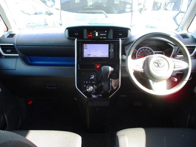 トヨタ ルーミー カスタムG S 地デジナビ 両側自動ドア LED クルコン