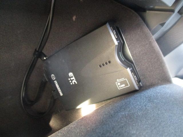 高速道路の走行に便利なETCを装備!料金所もノンストップで快適です♪