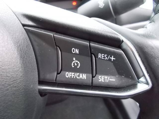 貴重なクルーズコントロール付き♪約30〜100キロの範囲で走行中、アクセルを踏まずに設定速度での定速走行が可能です♪
