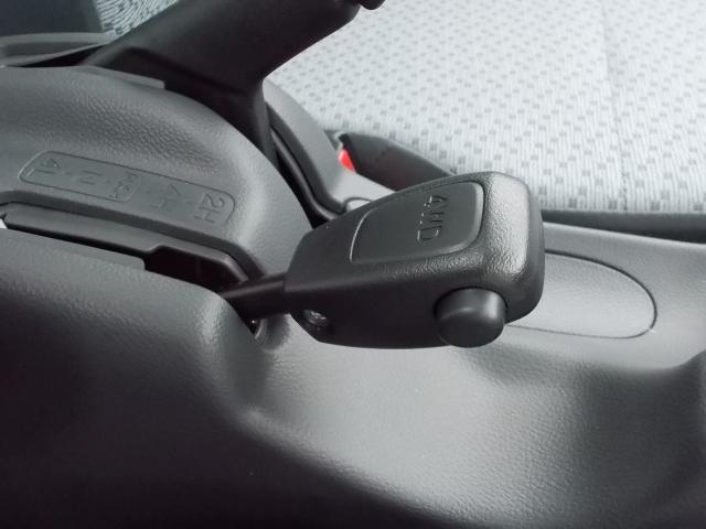 高低速2段切替え式パートタイム4WD♪