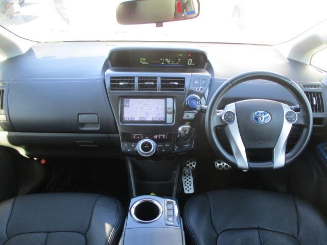 トヨタ プリウスアルファ 1.8 S ツーリングセレクション HDDナビ ETC 17