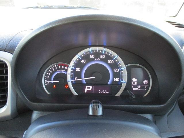 LED照明のメーターです!平均燃費なども表示してくれるのでエコ運転の参考になります!