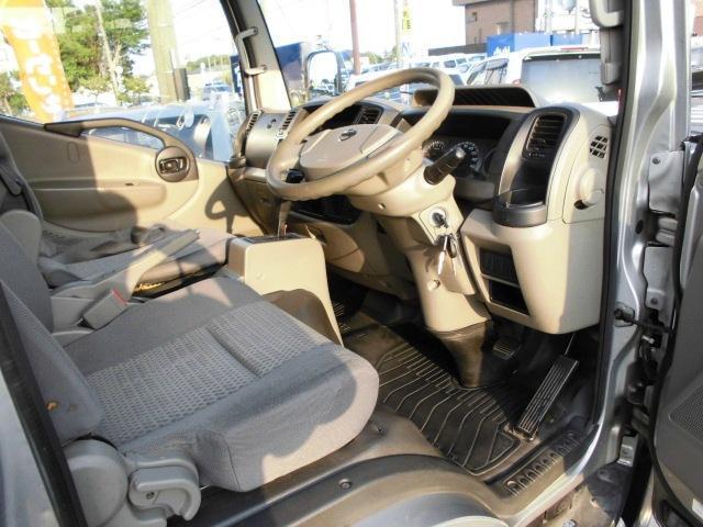 日産 アトラストラック WキャブフルスーパーローDX ワンオーナー 4D AT 幌付