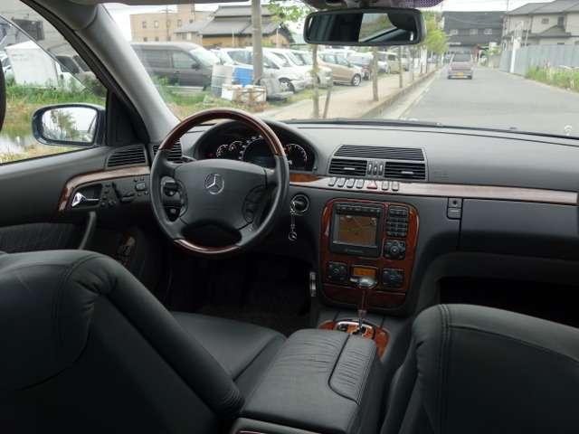 S500 D車 黒革シート サンルーフ(14枚目)