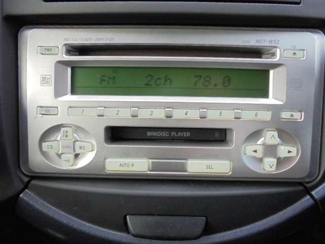 純正オーディオCD&FM,AMラジオ付きです!ドライブには欠かせないアイテムの一つですね!