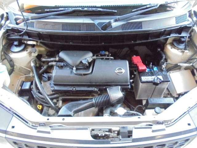タイミングチェーン式エンジンです☆購入後のメンテナンスは国交省認証自社工場で点検整備、車検は当社にお任せください♪