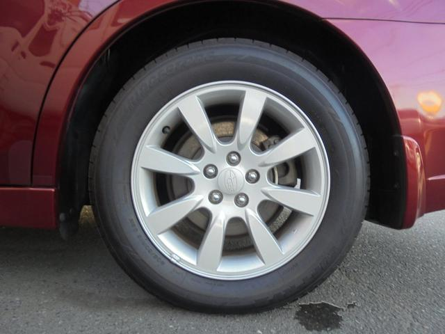 左後タイヤです!