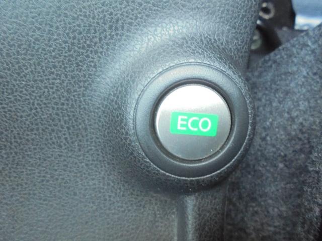 ECOスイッチが付いてます!