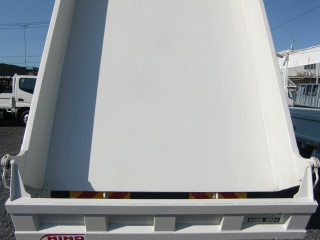 日野 ヒノレンジャー 未使用車 積載3.85t ショートキャブ 1方開き ダンプ