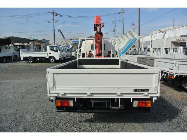 積載2トン 標準ロング 2.6t3段クレーン(5枚目)