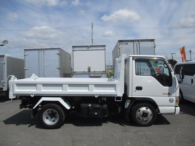いすゞ エルフトラック 三転強化ダンプ 高床 2000Kg積載