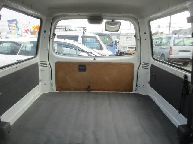 マツダ ボンゴバン ワイドローDX Wタイヤ オ-トマ 1000Kg積載