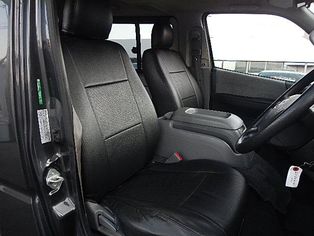 トヨタ レジアスエースバン ロングスーパーGL フルセグメモリーナビ 黒革調 ローダウン