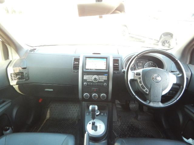 日産 エクストレイル 25X 4WD フルセグHDDナビ ワンオーナー車