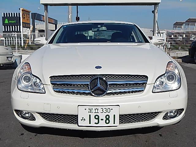 メルセデス・ベンツ M・ベンツ CLS550 ガラスサンルーフ 黒革シート HDDナビ地デジ