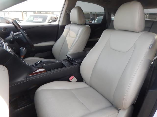 RX450hバージョンL4WD サンルーフ 白革 エアロ(13枚目)