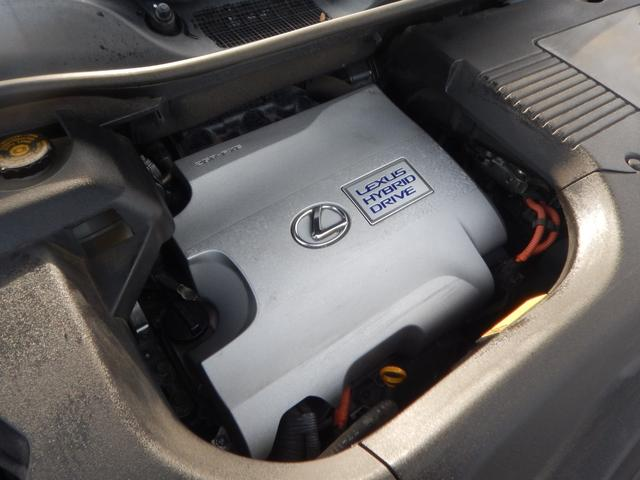 RX450hバージョンL4WD サンルーフ 白革 エアロ(19枚目)