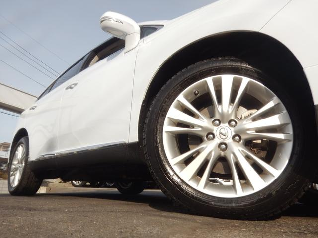 RX450hバージョンL4WD サンルーフ 白革 エアロ(20枚目)