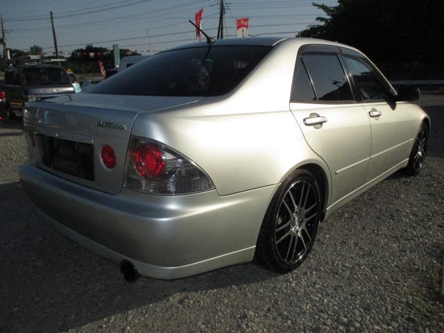 トヨタ アルテッツァ RS200 Zエディション 6速MT タイベル交換済み