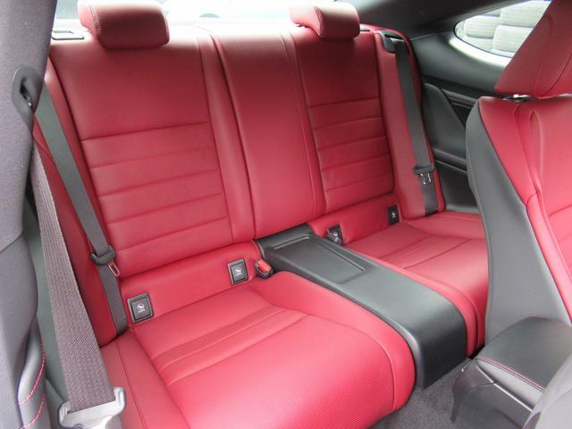 RC300h バージョンL 現行型 1オーナー車 セーフティS LDA BSM 赤革Pシート 3眼LED 2.0ETC ナビTV Bモニター スマートキー コーナーセンサー シートヒーター シートエアコン 純正18AW 記保付き(6枚目)