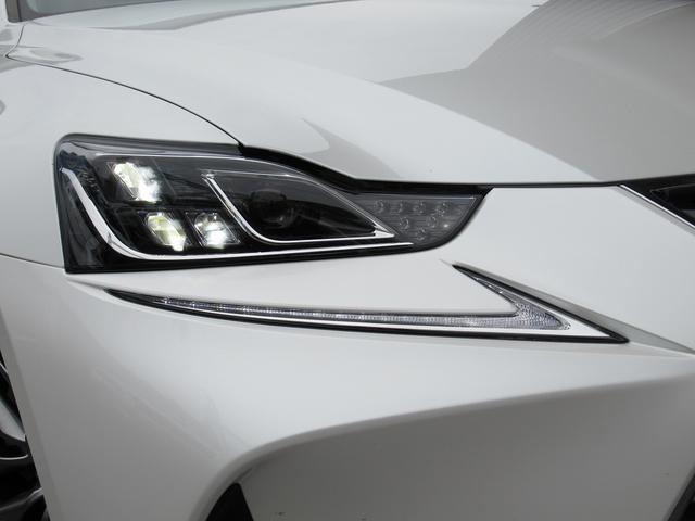 IS300h バージョンL 後期型 セーフティS LDA BSM 黒革シート サンルーフ ナビTV Bカメ OP18AW 3眼LEDライト シートヒーター シートエアコン 電動サンシェード 2.0ETC スマートキー 保取(16枚目)