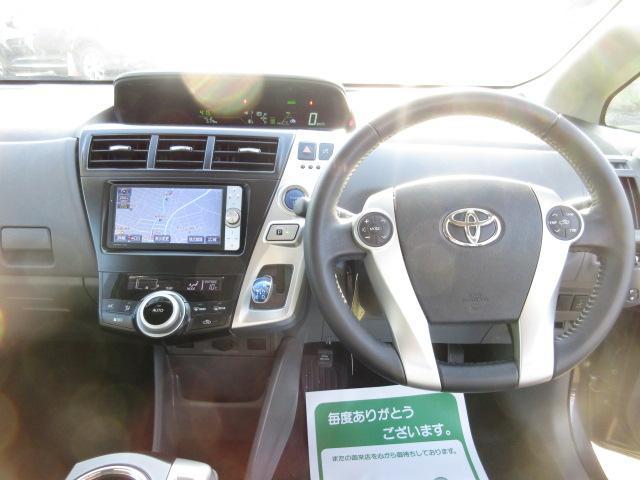 トヨタ プリウスアルファ SツーリングSHDDナビTVバックカメラLEDライト
