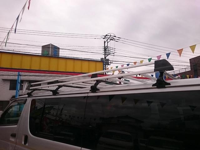 トヨタ レジアスエースバン ロングDX キーレス ETC ルーフキャリア