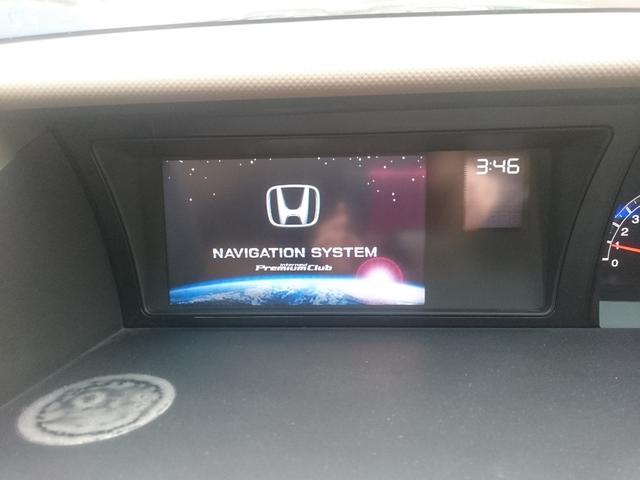 ホンダ エリシオン VX 純正HDDナビ 後席モニター 両側パワースライドドア