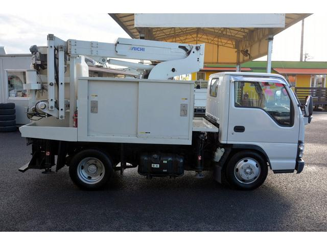 いすゞ エルフトラック 高所作業車 8m アイチSE08B