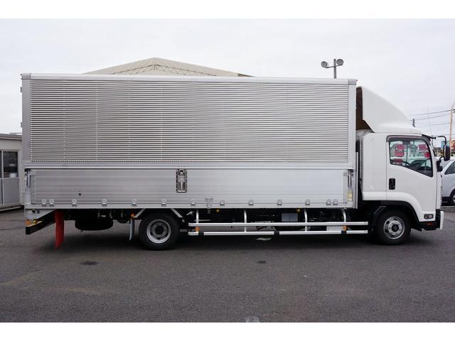 アルミウイング 積載2950kg ワイド 寝台 リアエアサス(5枚目)