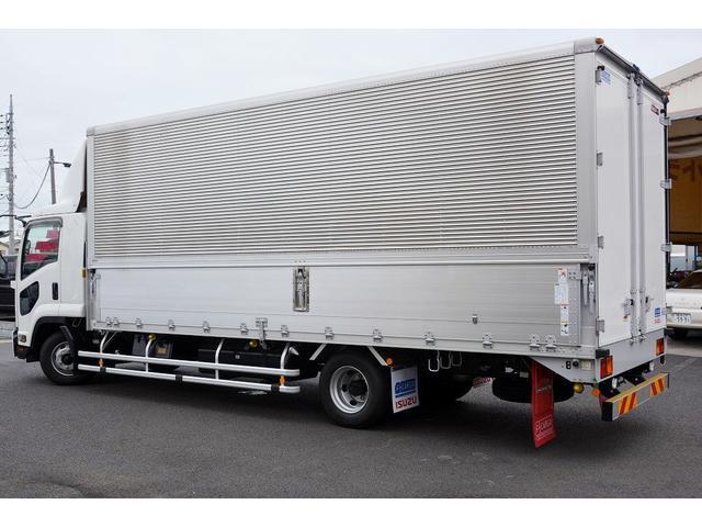 いすゞ フォワード アルミウイング 積載2950kg ワイド 寝台 リアエアサス