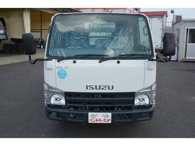 いすゞ エルフトラック 強化ダンプ 積載2000kg 手動コボレーン 4WD MT車