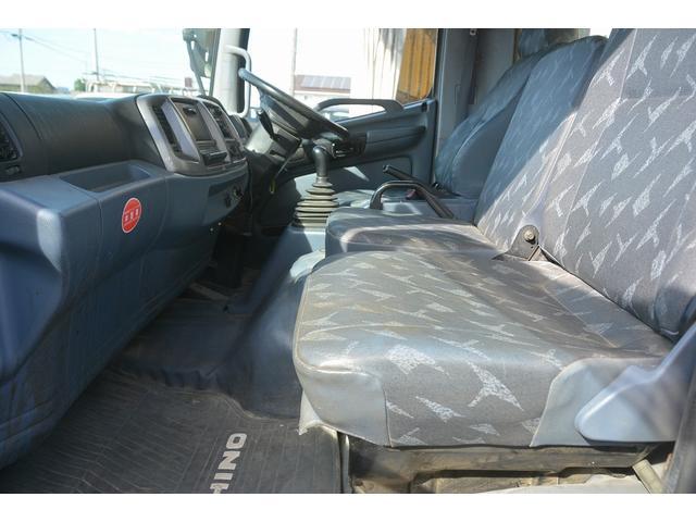 日野 ヒノレンジャー 強化ダンプ 積載3800kg 極東 手動式コボレーン