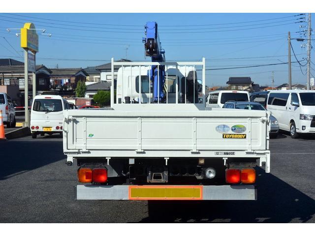 日野 ヒノレンジャー 4段クレーン 積載2750kg ラジコン 2.9t吊 AT車