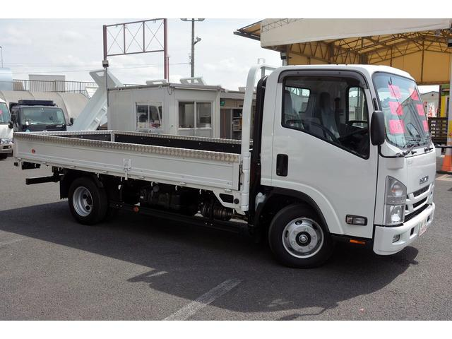 いすゞ エルフトラック ワイドロング 平ボディー 積載3000kg セイコーラック