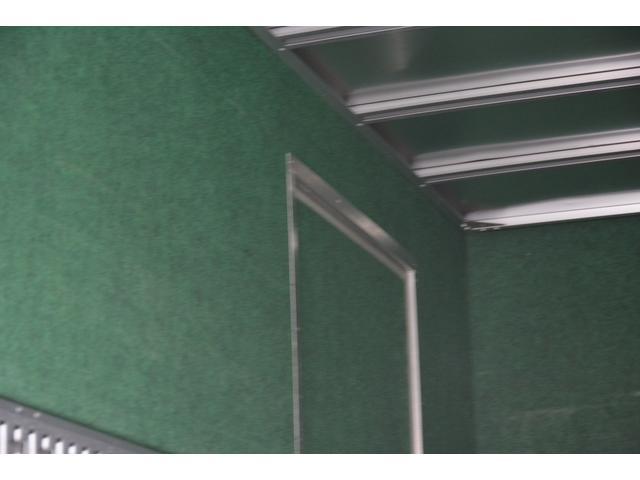 三菱ふそう キャンター ロング アルミバン サイドドア マルチゲート 2t エアサス