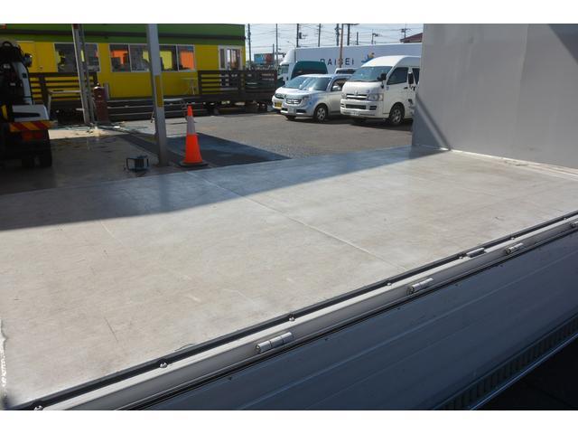 ワイドロング アルミウイング 2t積 導風板 荷台鉄板張り(15枚目)