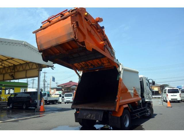 増トン パッカー ベッド 新明和 プレス式 7.4立米(20枚目)