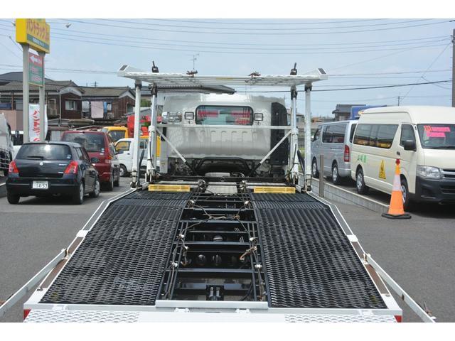 ワイドロング 積載車 2台積 花見台 3.55t積 ウインチ(17枚目)