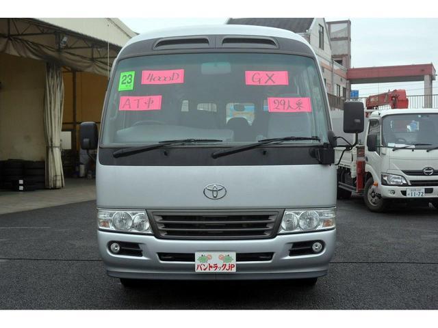 GX マイクロバス 29人乗 自動ドア リア観音扉 モケット(9枚目)
