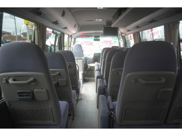 GX マイクロバス 29人乗 自動ドア リア観音扉 モケット(18枚目)